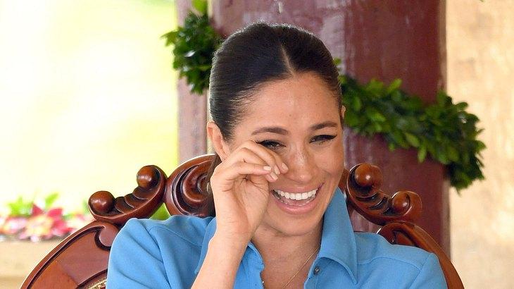 Herzogin Meghan: Bei diesem Lachanfall fließen Tränen