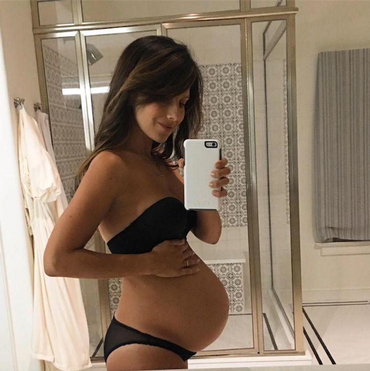 3. Schwangerschaft: Hilaria Baldwin zeigt ihre Babykugel