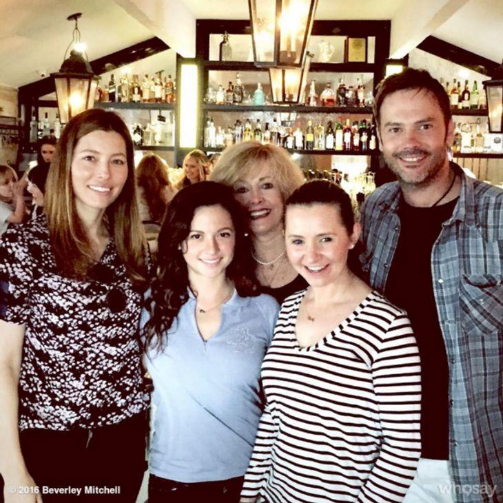 Jessica Biel wird von ihren Ex-Kollegen unterstützt