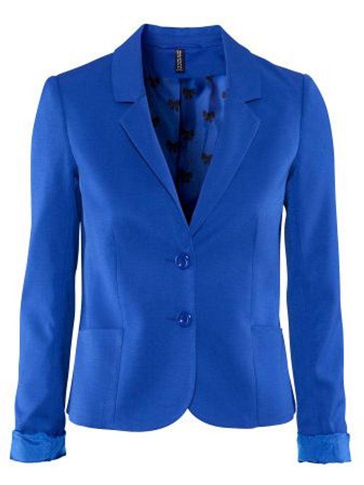 Klau den Look von Blake LivelyBlazer in Blau von H&M, um 19,95 Euro