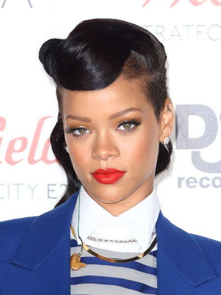 Rihanna macht es spannend