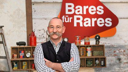 Horst Lichter am Drehort von Bares für Rares - Foto: ZDF/Frank W. Hempel
