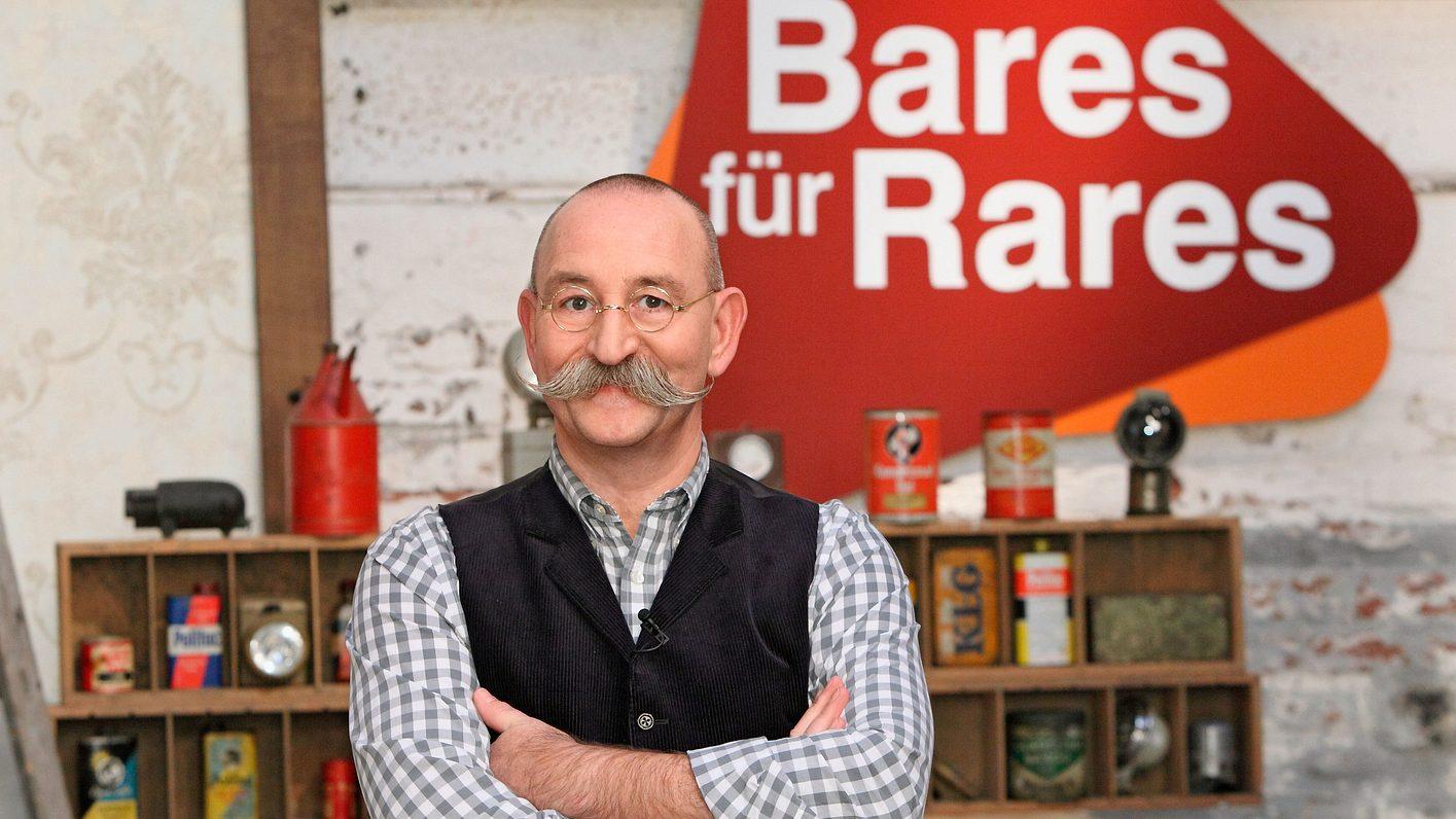 Horst Lichter am Drehort von Bares für Rares