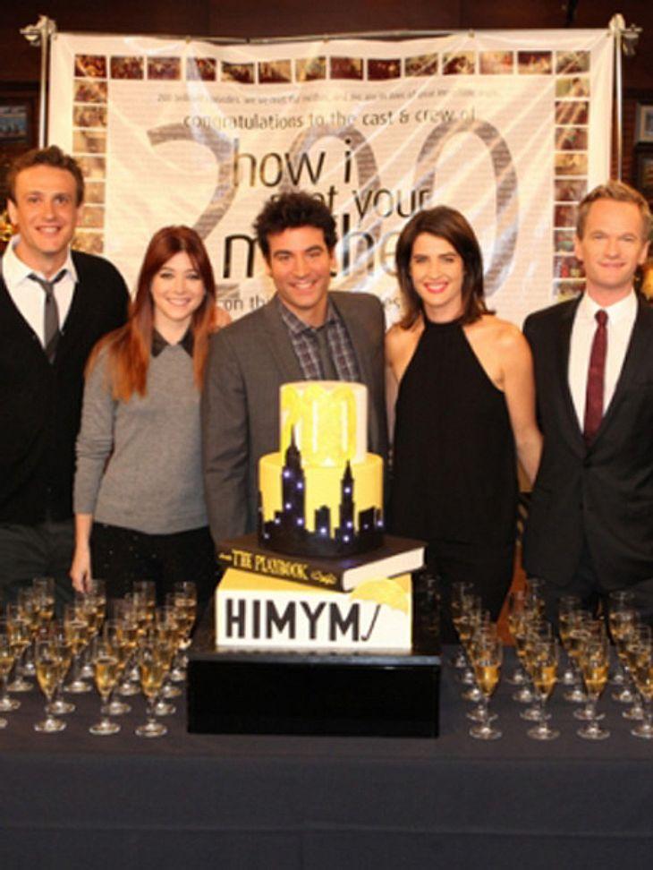 """Die """"How I Met Your Mother""""-Stars feiern die 200. Folge"""