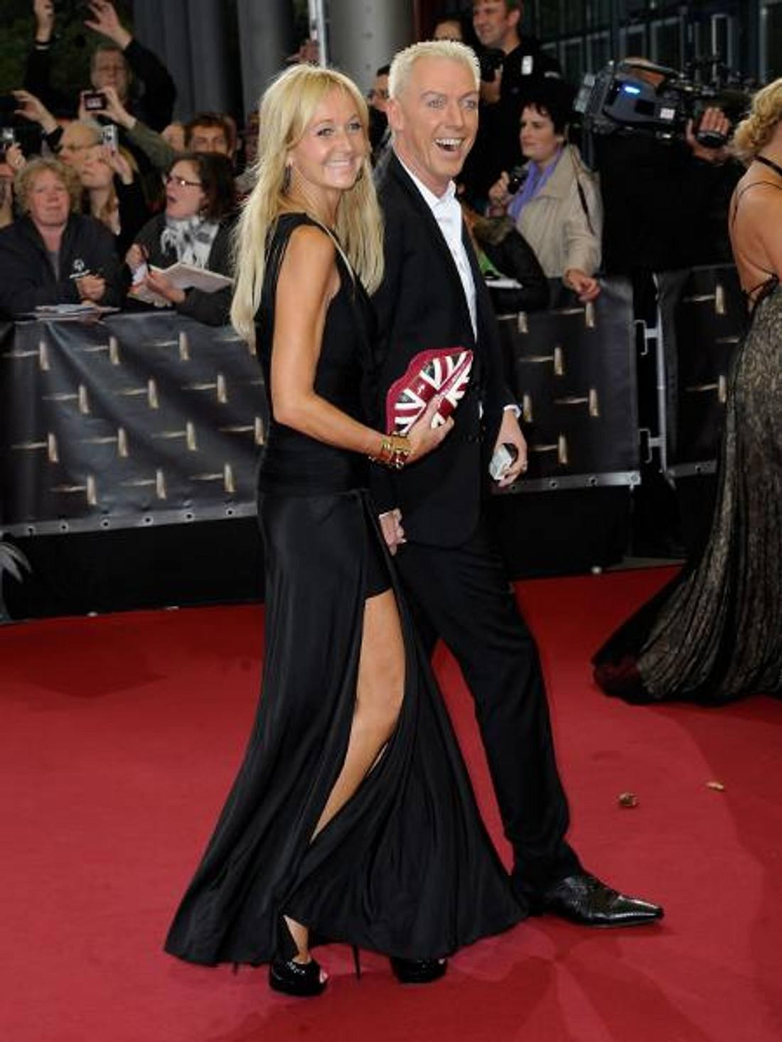 Deutscher Fernsehpreis 2012 - Die HighlightsH.P. Baxxter (46) führte seine neue Freundin Nikola Jansco (44) über den roten Teppich.