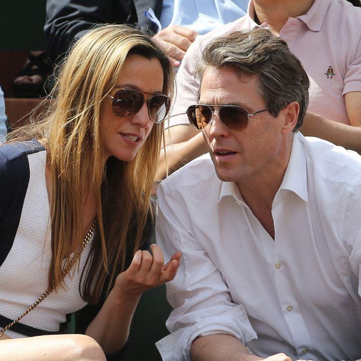 Anna Eberstein und Hugh Grant werden wieder Eltern