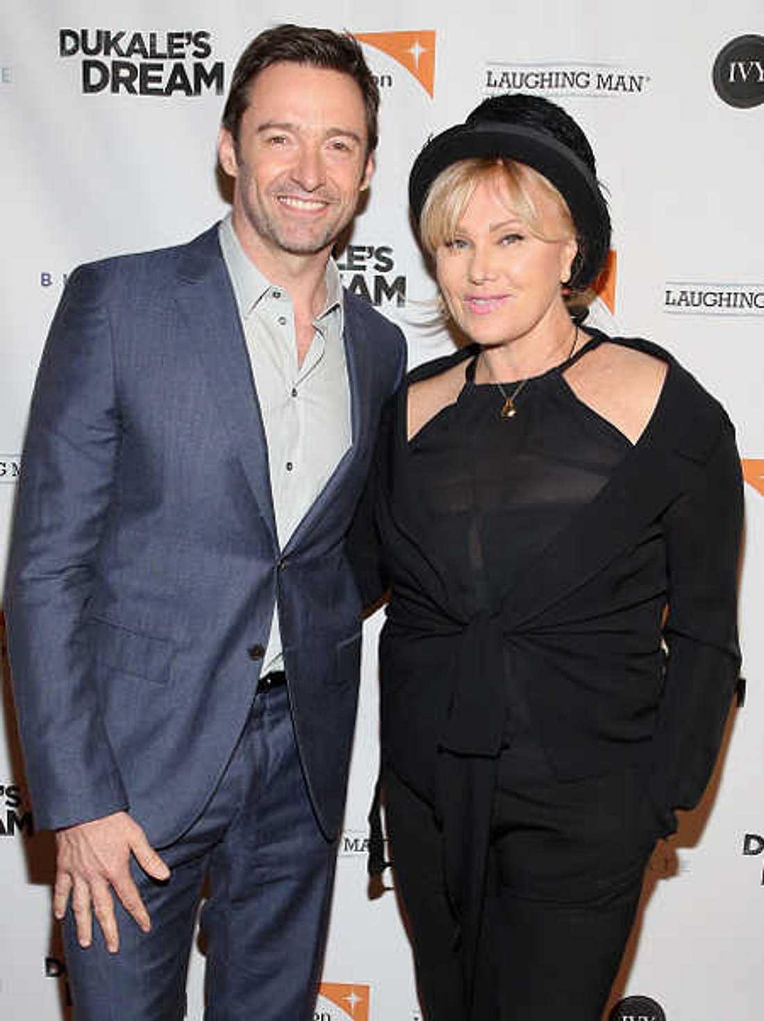 Hugh Jackman: Seine Ehefrau verbietet ihm Filme mit Angelina Jolie