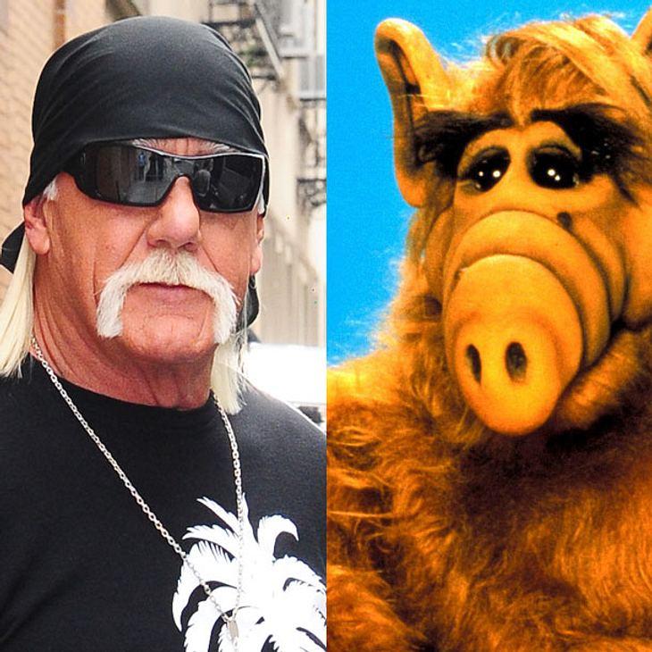 Hulk Hogan und Alf im gemeinsamen Werbespot
