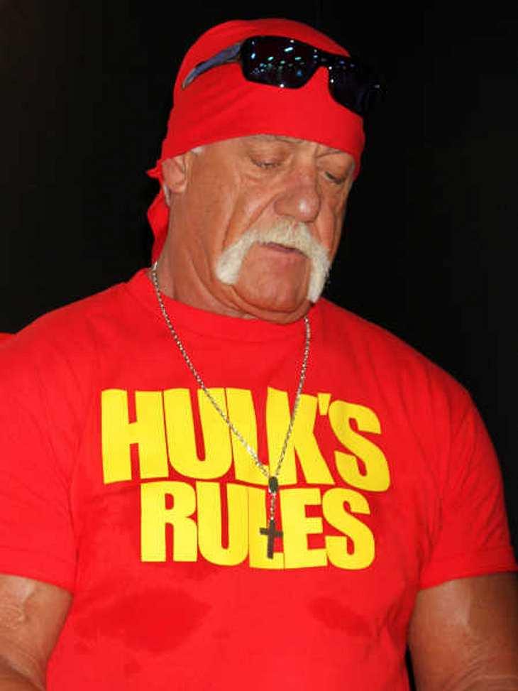 Reingefallen - Dem Amerikaner Hulk Hogan kam das Bild von Josef Fritzl nicht bekannt vor