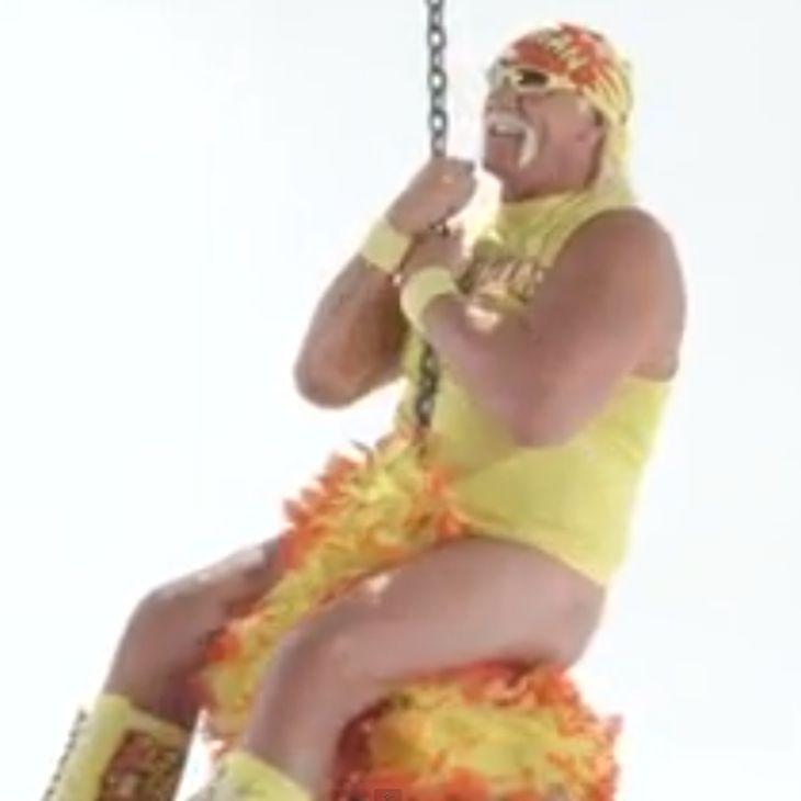 Hulk Hogan im Tanga