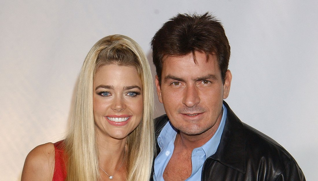 Denise Richards und Charlie Sheen