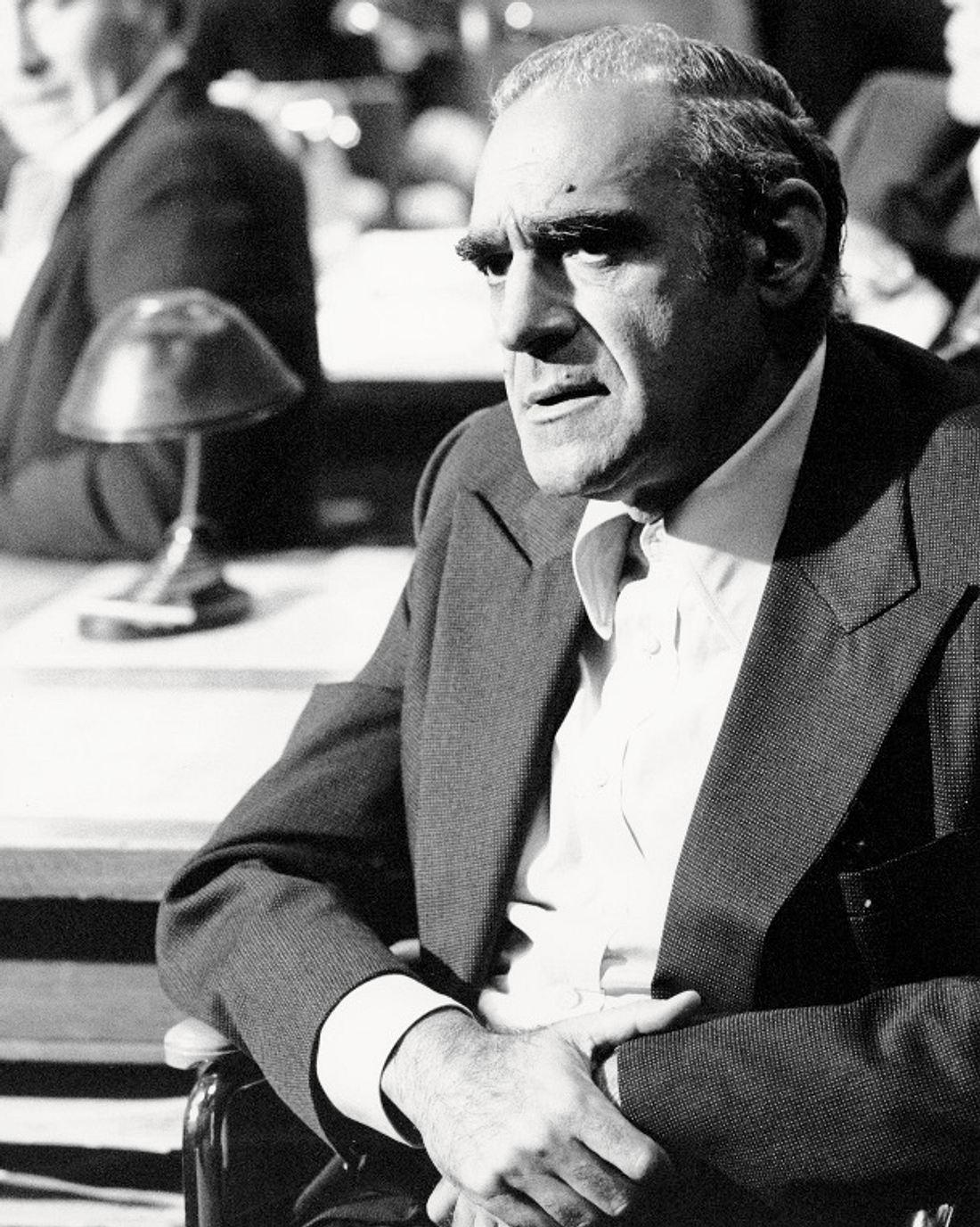 Mit seiner Rolle in Der Pate wurde Abe Vigoda berühmt