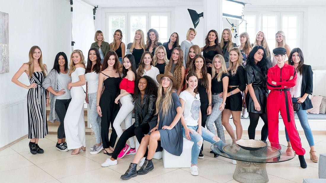 Die Kandidaten von Sylvie Dessous Models