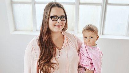 Calantha Wollny und ihre Tochter - Foto: RTLzwei