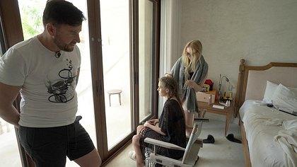 Michael Wendler, Laura Müller und Adeline Norberg - Foto: TVNOW