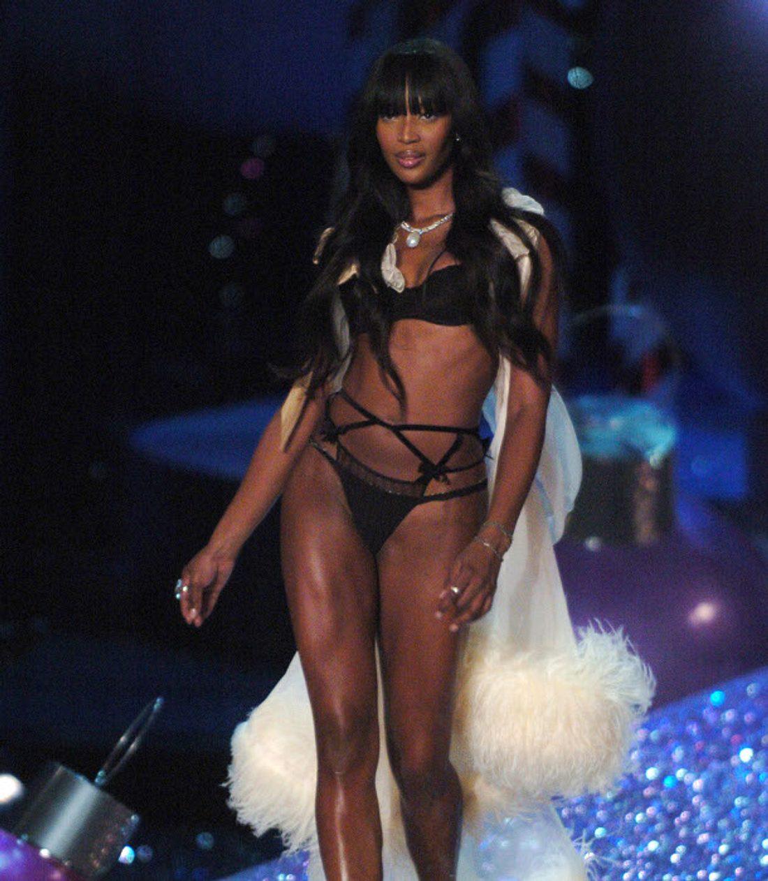 Naomi Campbell lief schon häufiger in der 'Victoria's Secret'-Show