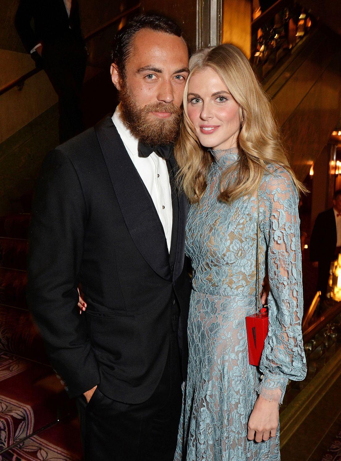 James Middleton und Donna Air