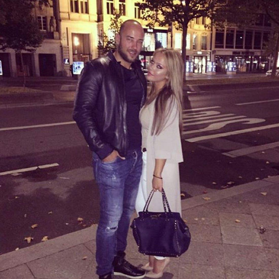 Kim Gloss ist seit kurzem glücklich mit ihrem neuen Freund