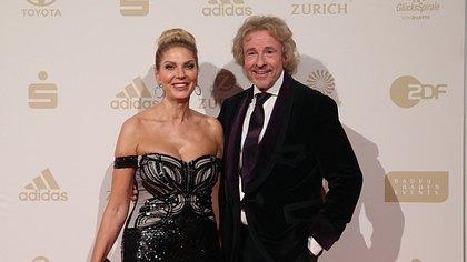 Thomas Gottschalk und Karina Mroß - Foto: Getty Images