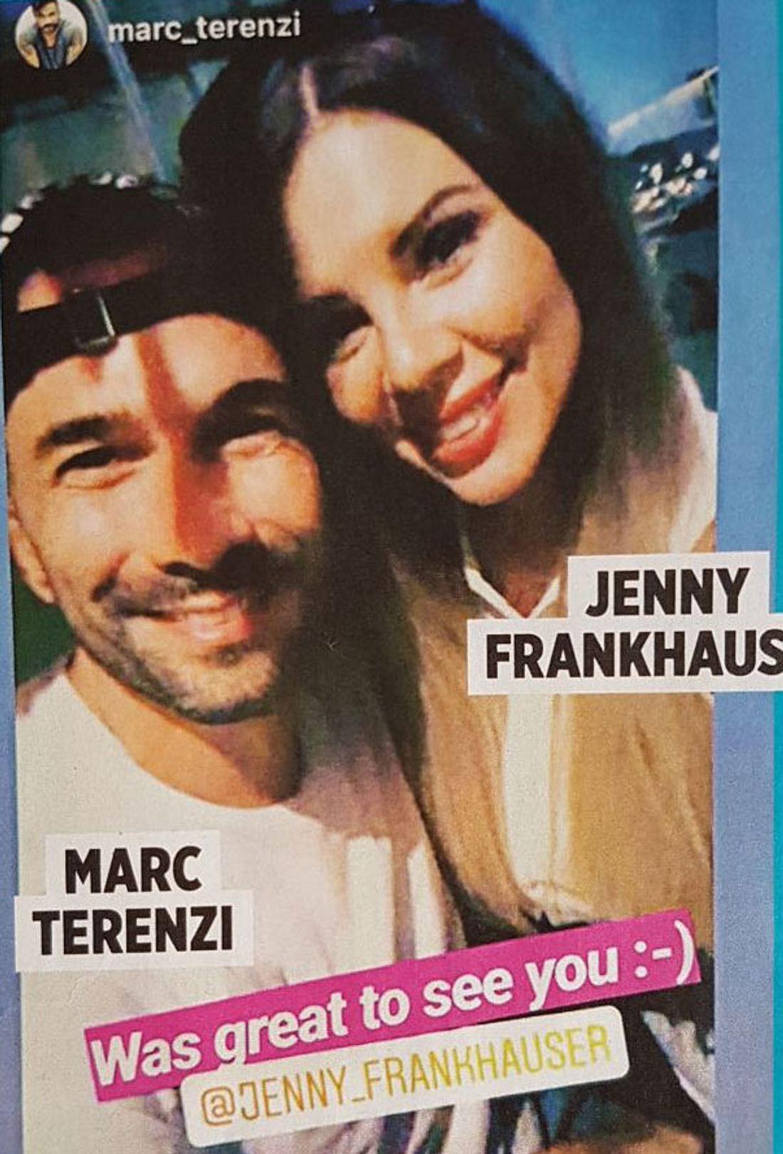 Jenny Frankhauser Marc terenzi