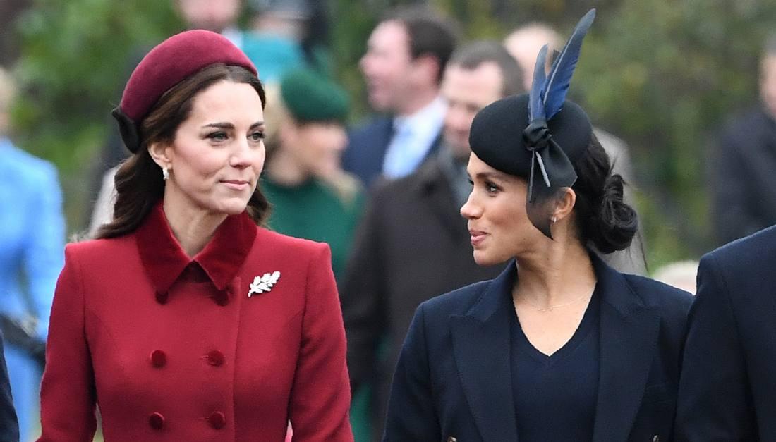 Herzogin Meghan und Herzogin Kate
