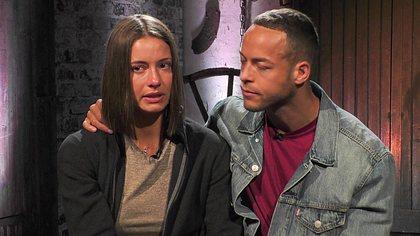Andrej Mangold und Jenny Lange - Foto: TVNOW
