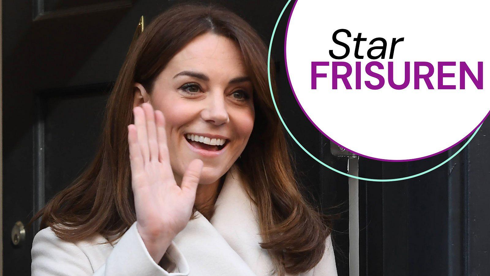 Herzogin Kate: Haar-Hammer! Sie zeigt ihre neue Frisur!