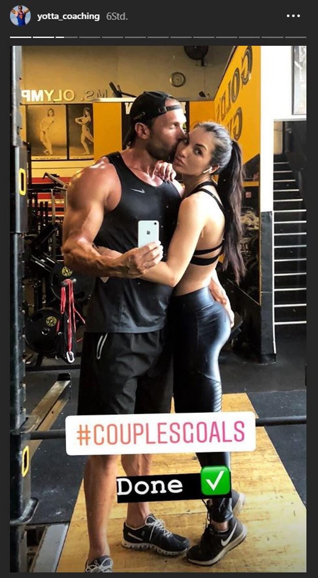 Bastian Yotta und seine Freundin Elisa