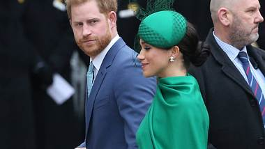 Harry und Meghan - Foto: imago images / Matrix