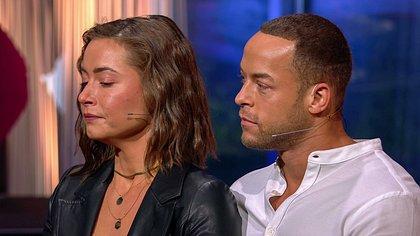 Jenny Lange und Andrej Mangold - Foto: TVNOW