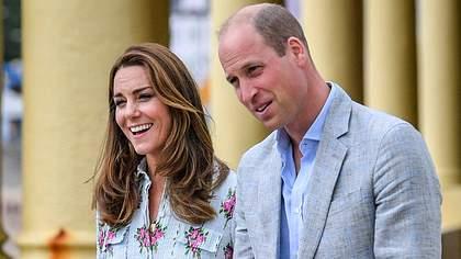 Schwanger! Und William zeigt seine Gefühle erstmals öffentlich!