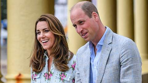 William und Kate - Foto: imago images / i Images