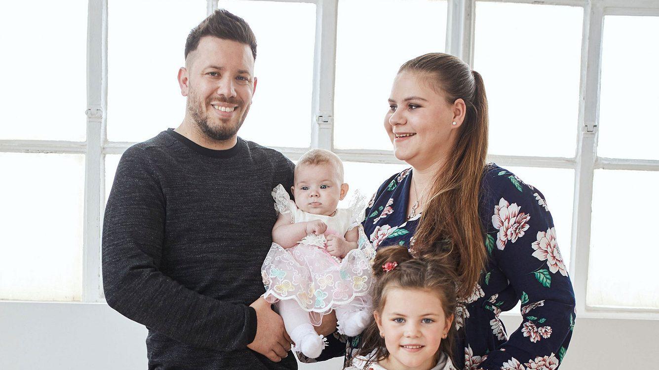 Sylavana Wollny und ihre Familie