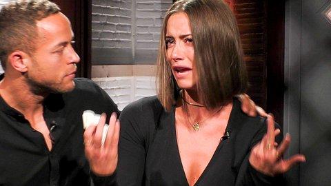 Andrej Mangold und Jenny Lange mussten das Sommerhaus verlassen - Foto: TVNOW