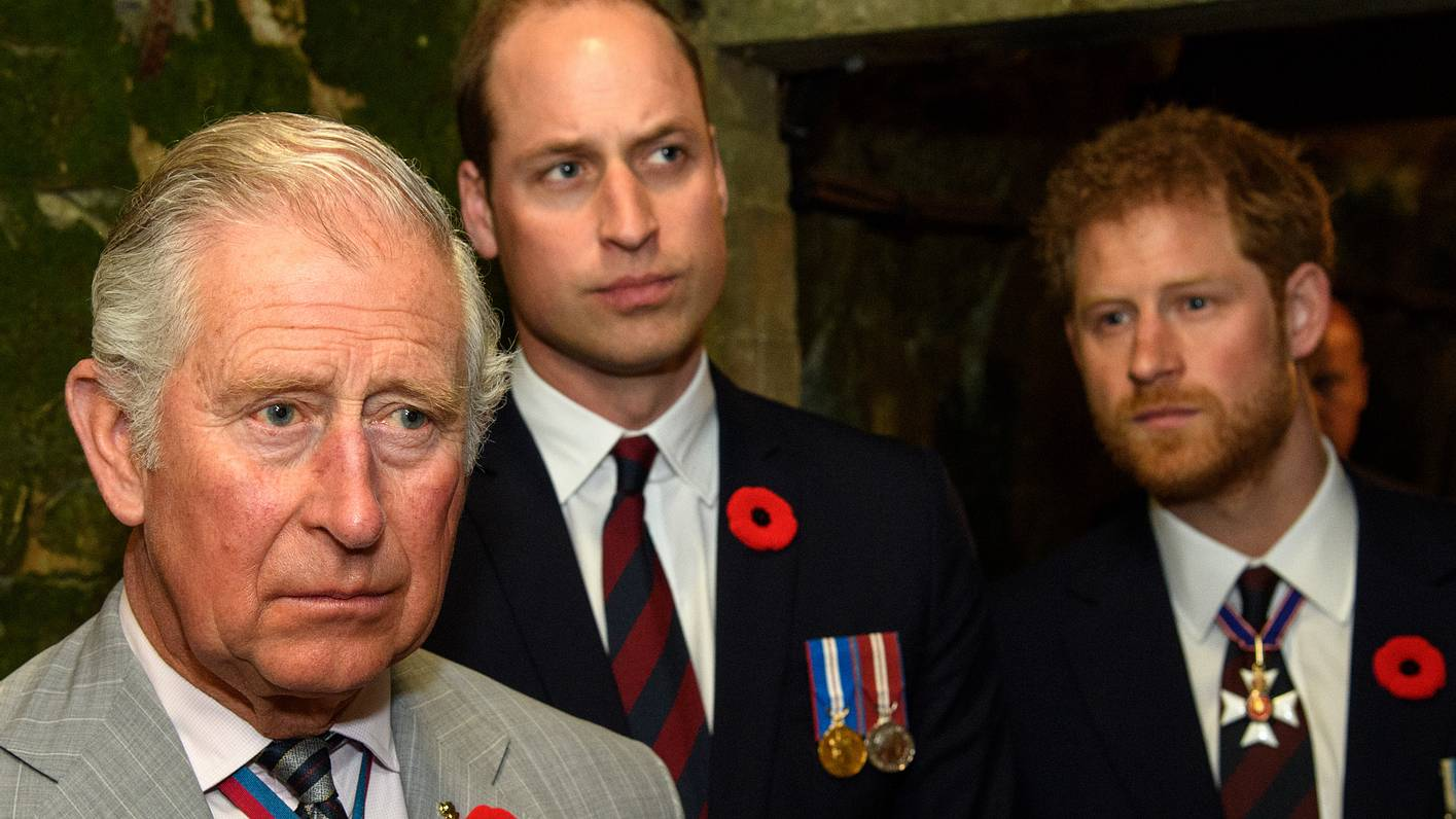 Harry, William und Charles