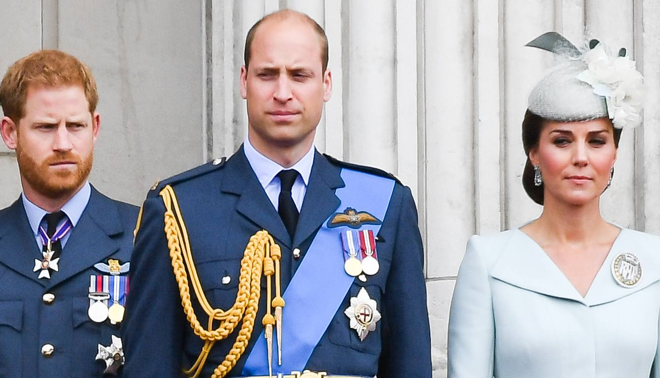 Harry Kate und William