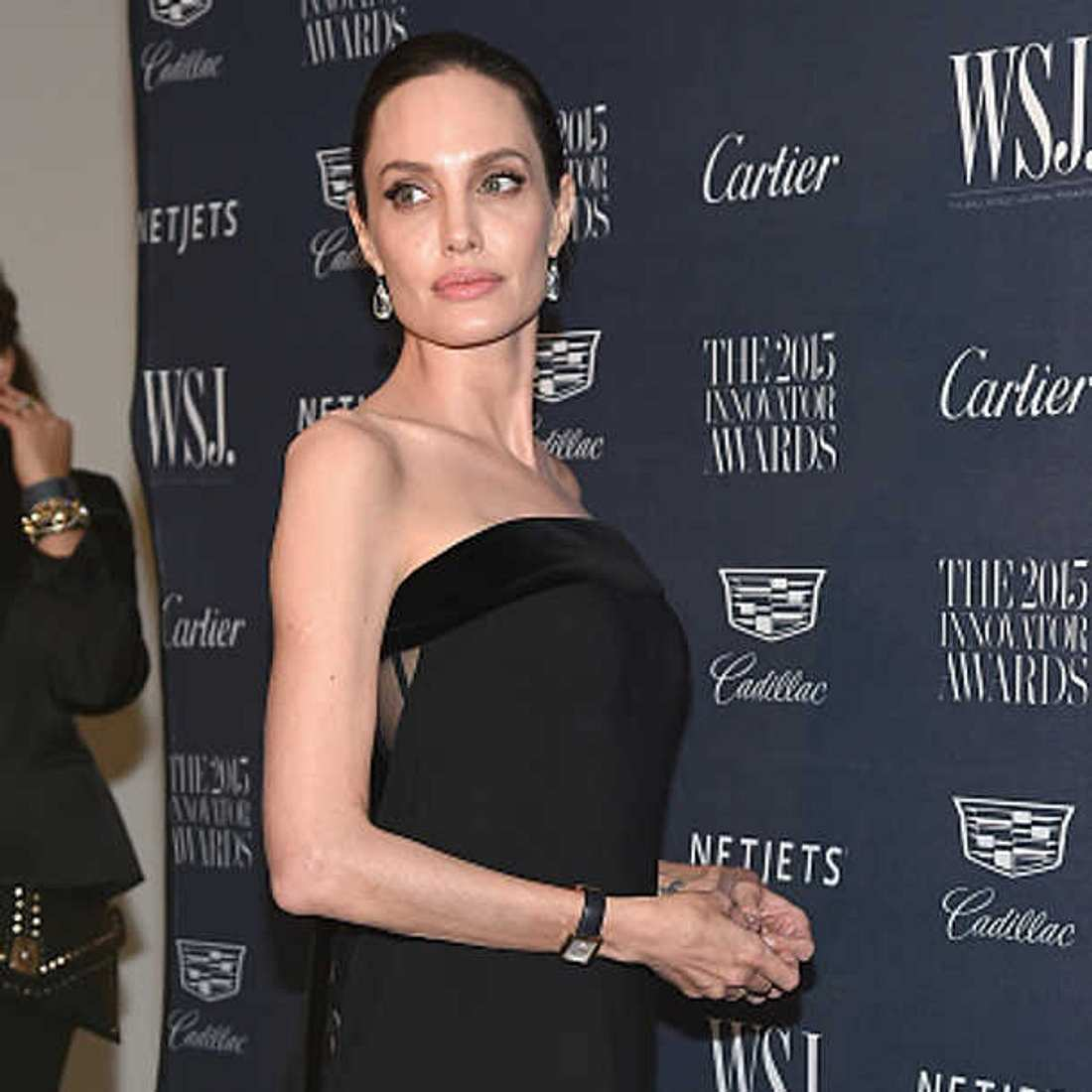 Angelina Jolie dünn