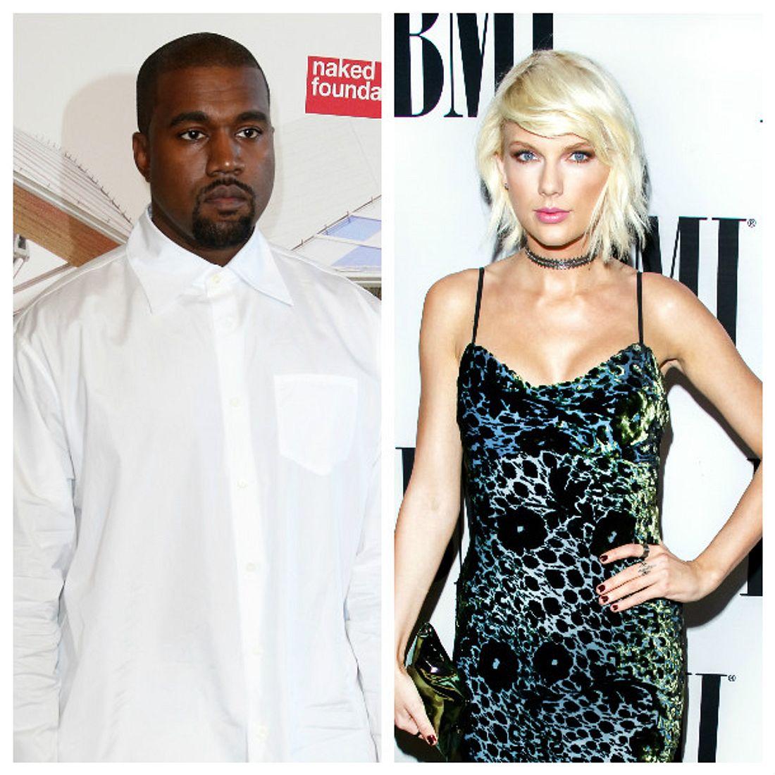 Kanye West und Taylor Swift liefern sich einen medienwirksamen Beef