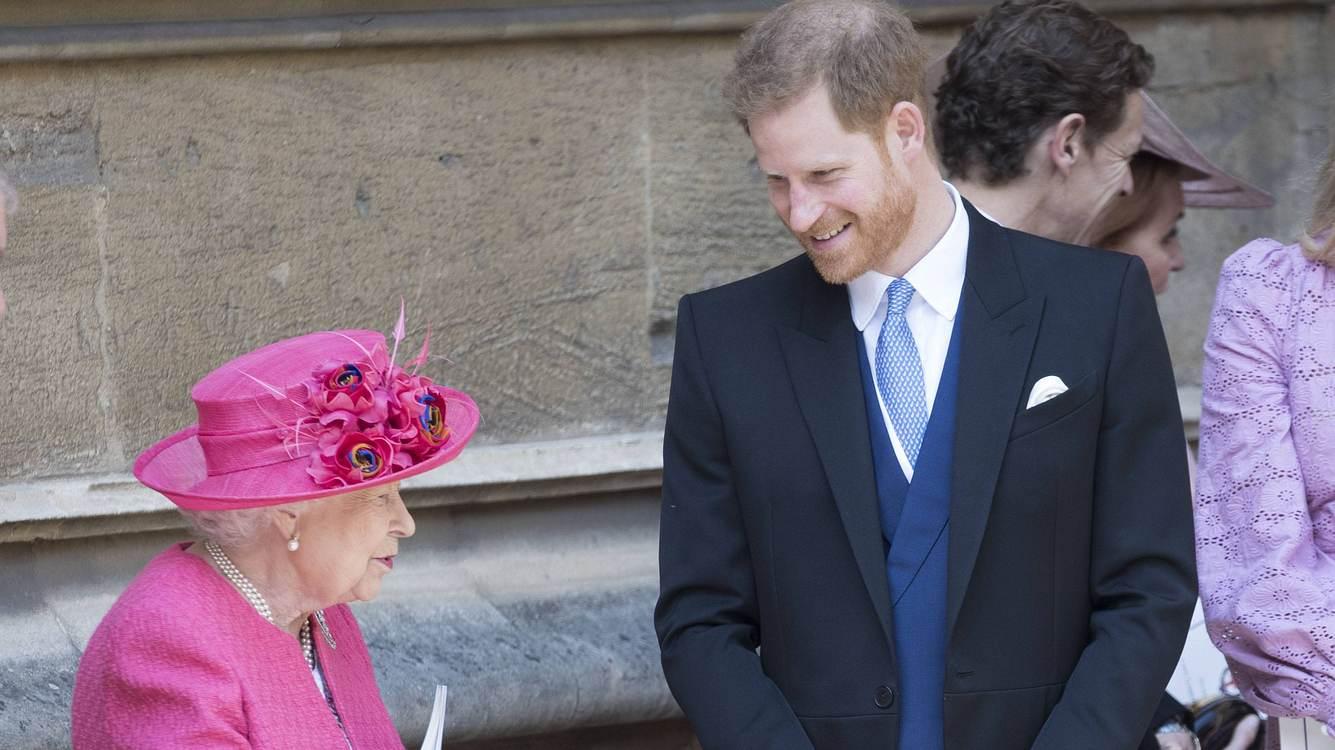 Queen und Harry