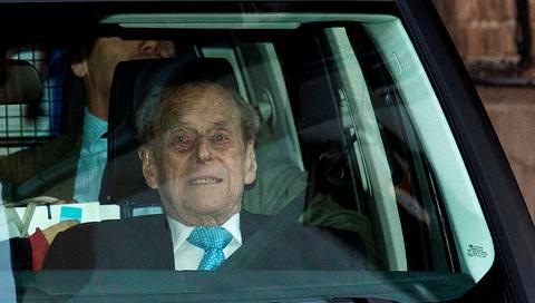 So schlecht geht es dem Royal nach seinem Autounfall wirklich!