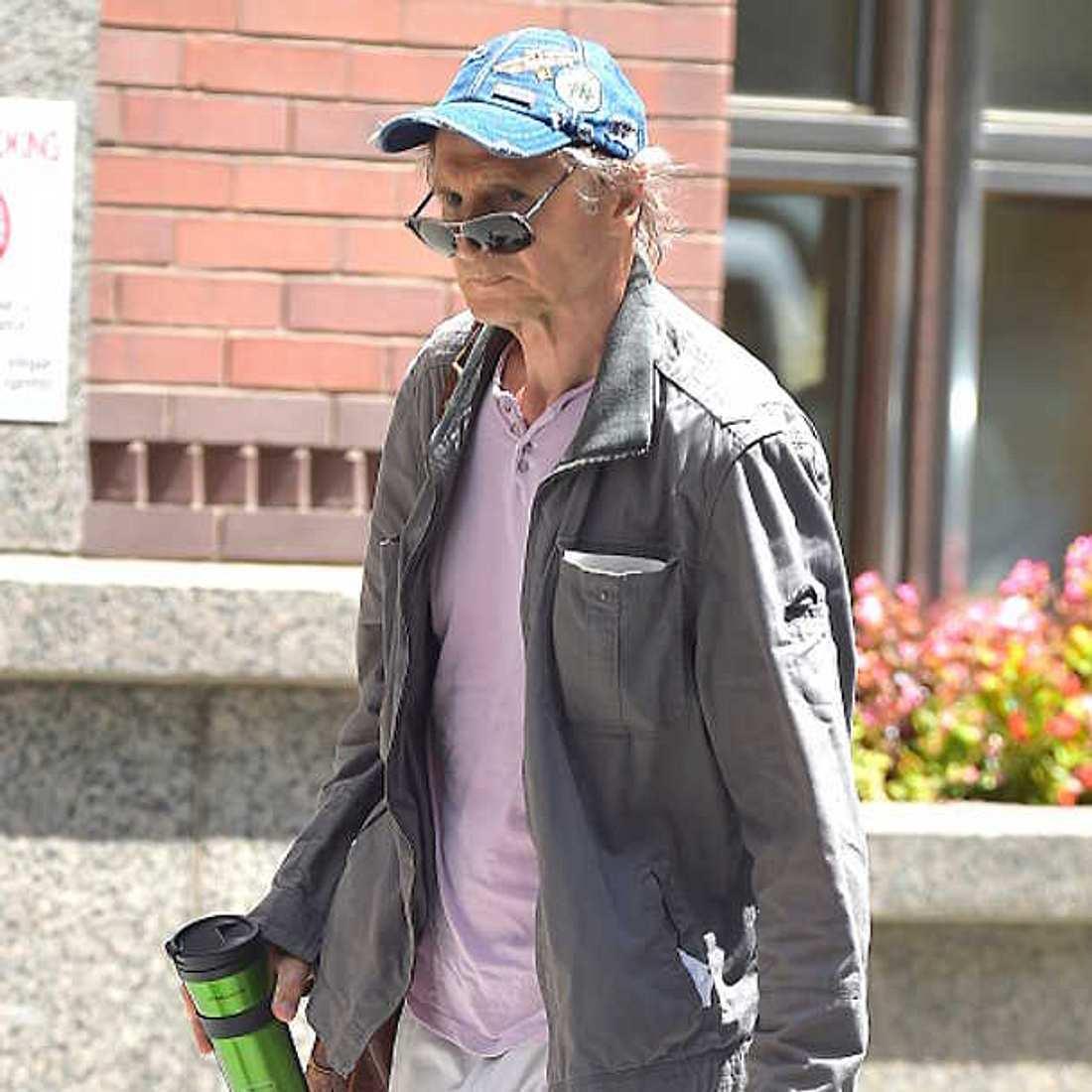 Liam Neeson abgemagert