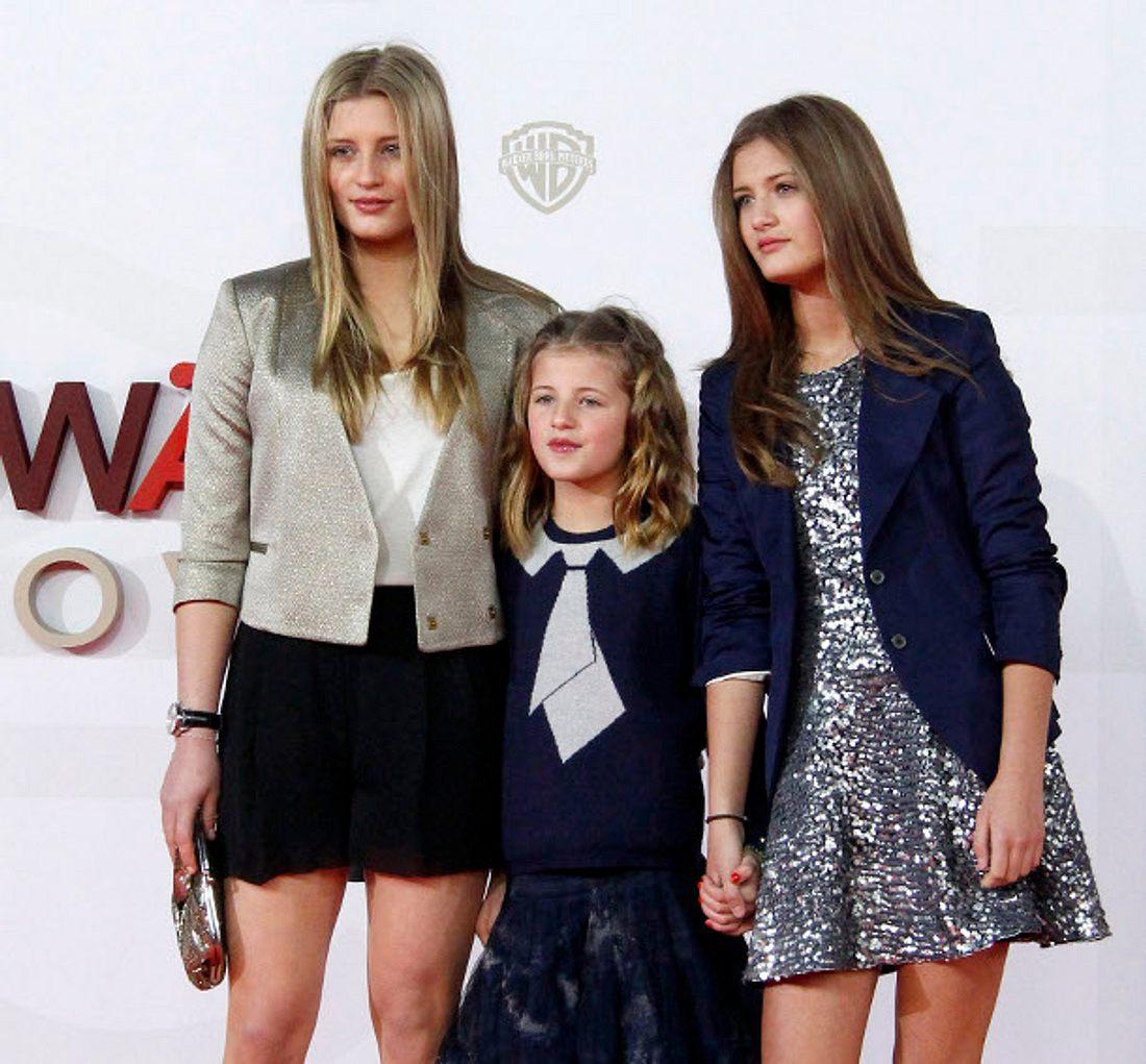Til Schweigers Töchter Luna, Emma und Lilli