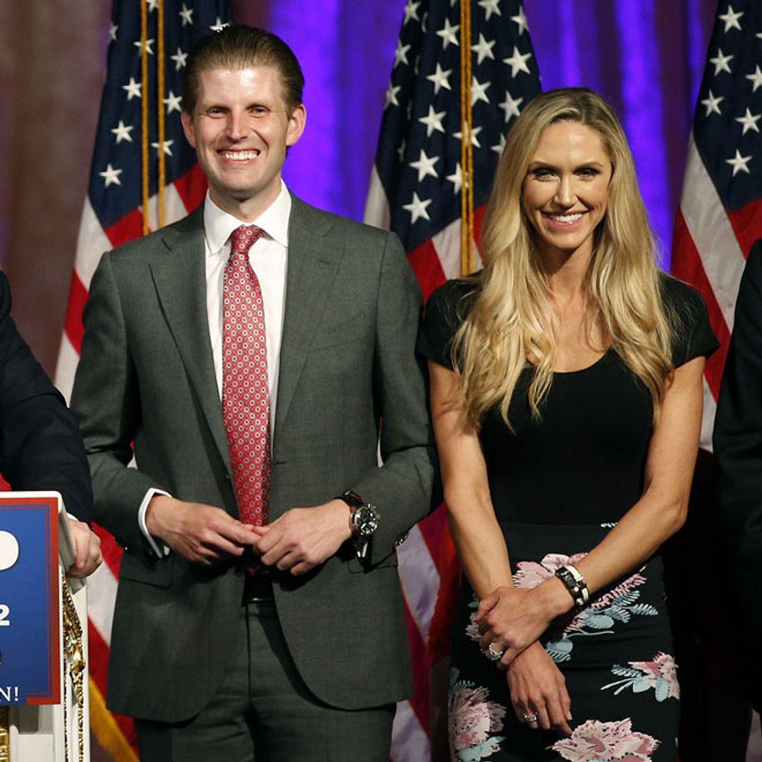 Eric Trump und seine Frau Lara werden Eltern