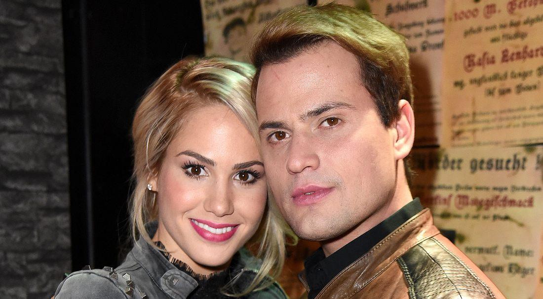 Angelina Heger und Rocco Stark