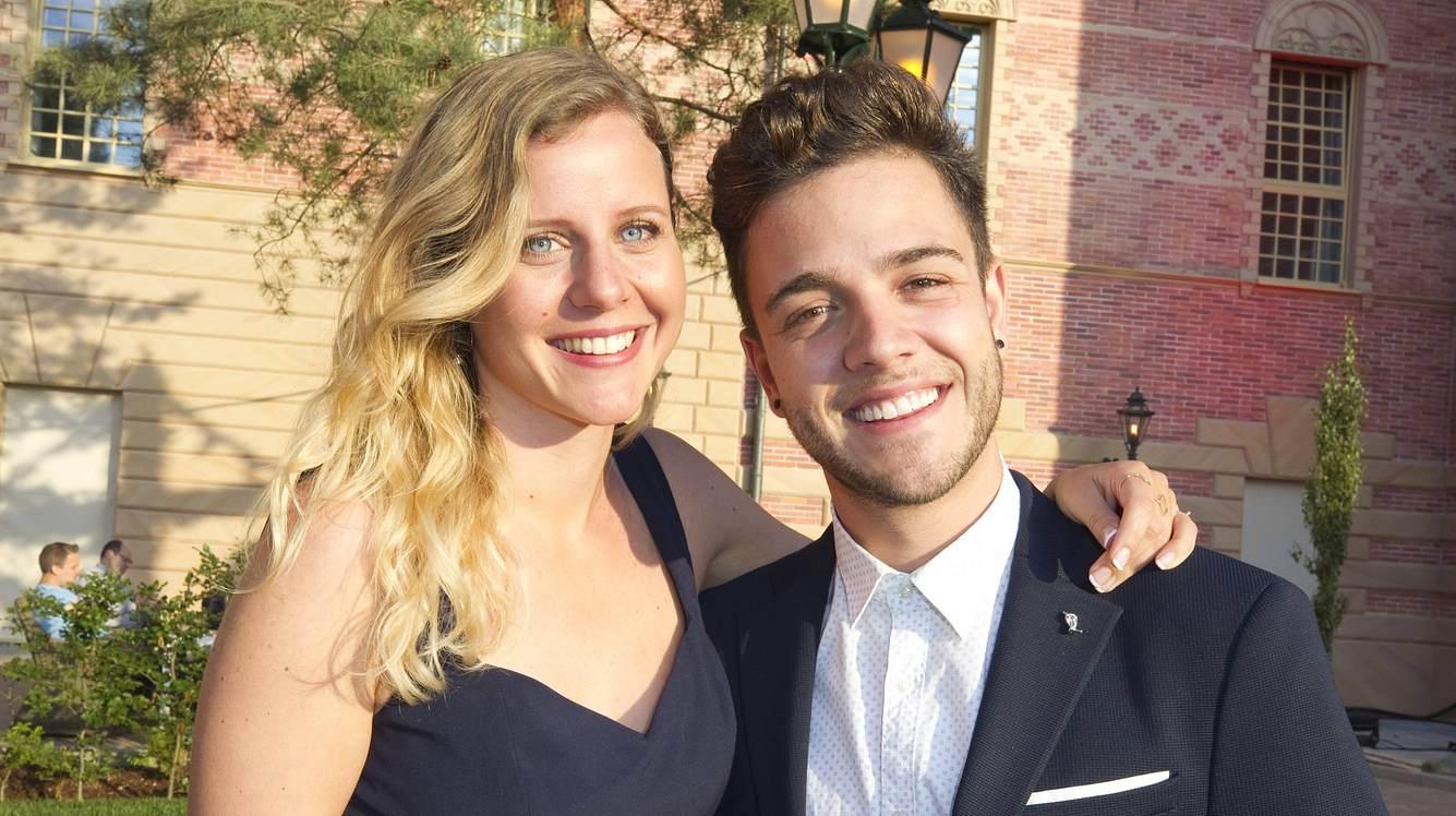 Luca Hänni und Michèle