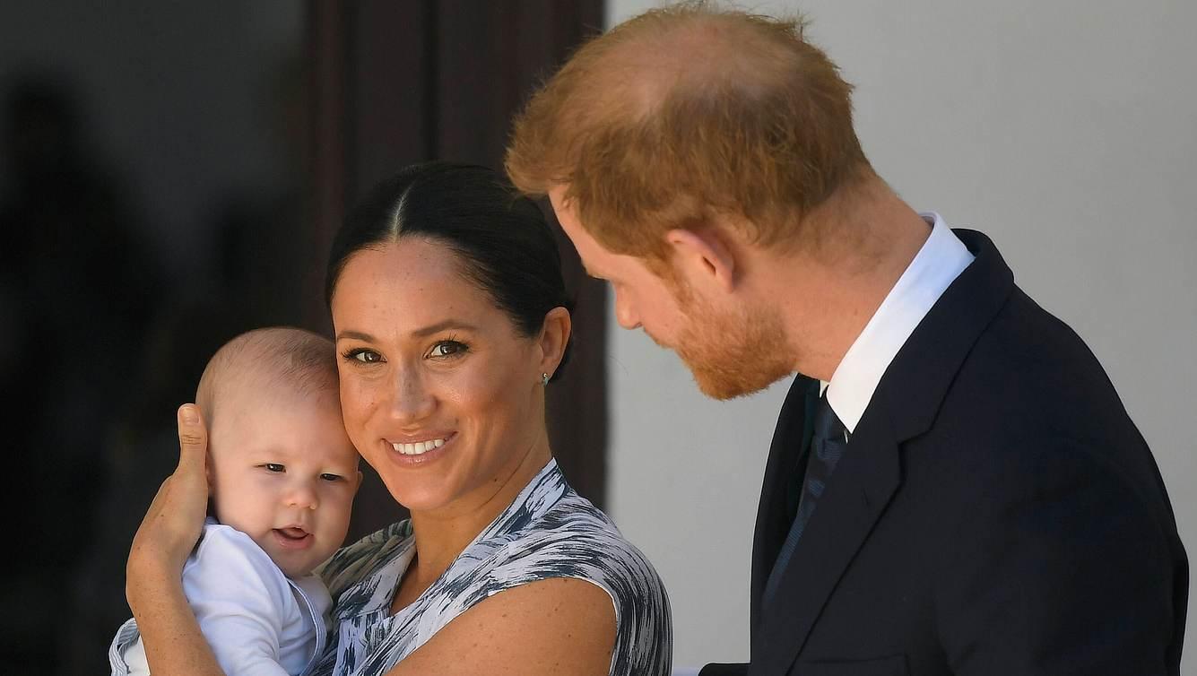 Baby Archie, Herzogin Meghan, Prinz Harry