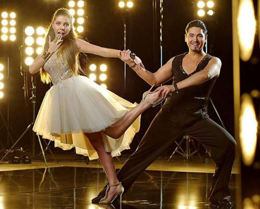 Victoria Swarovski tanzt mit Erich Klann