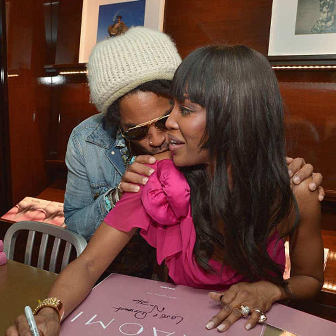 Naomi Campbell Lenny Kravitz Paar