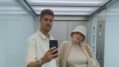 Dustin Schöne zeigt Baby Zoe - Foto: Instagram/ Lena Gercke