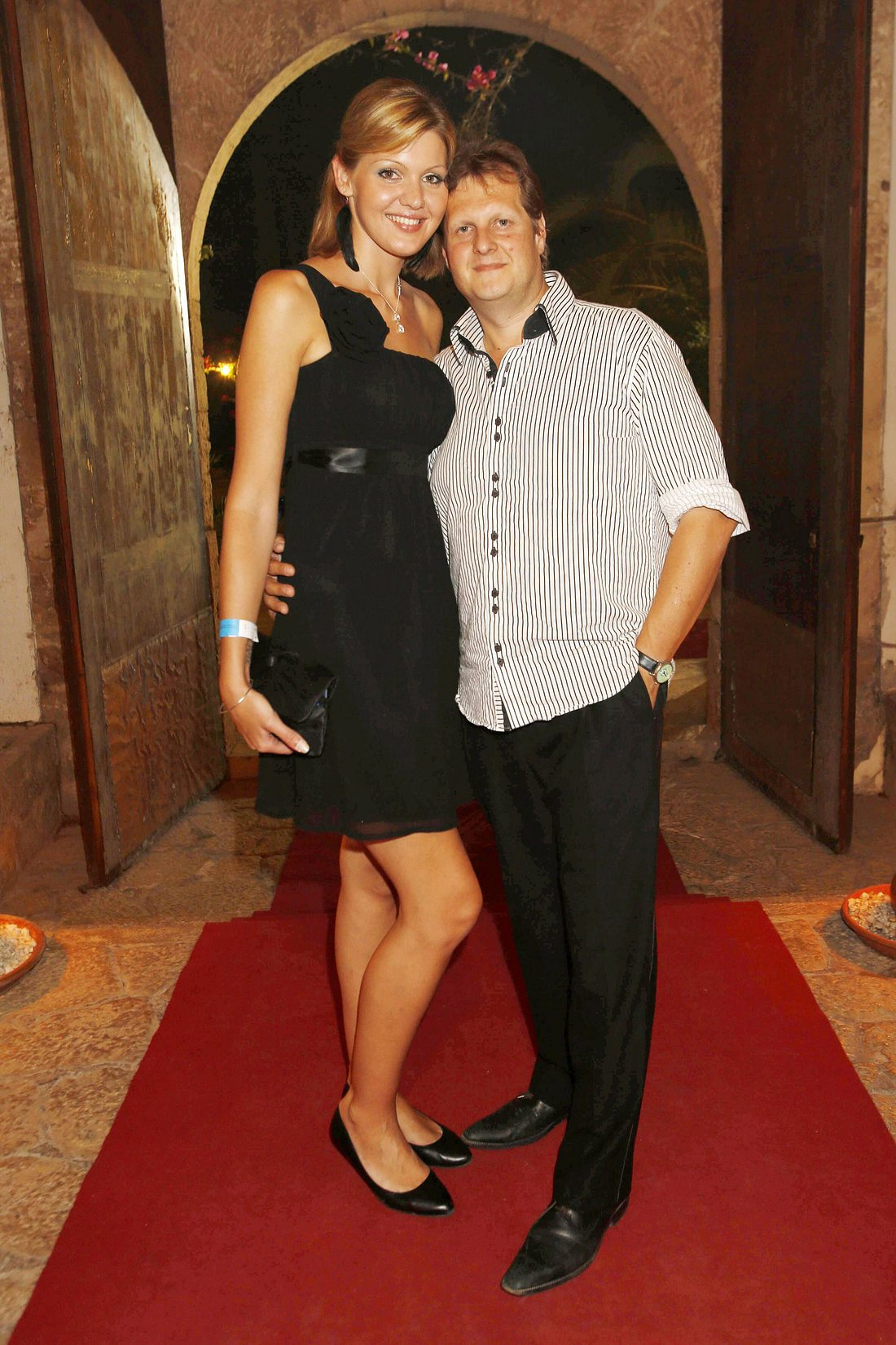 Jens Büchner und Ex Jenny Matthias
